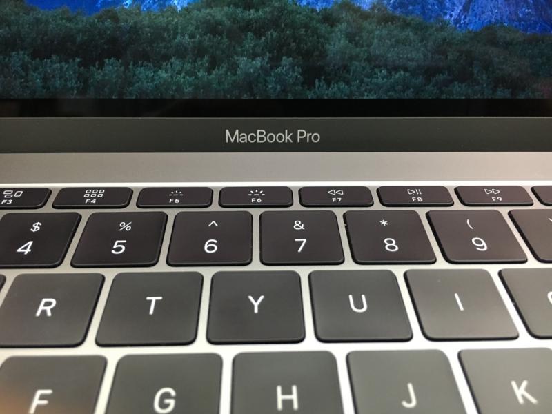MacBook Pro Late 2016 13インチ TouchBar無モデルで動画編集をしてみた