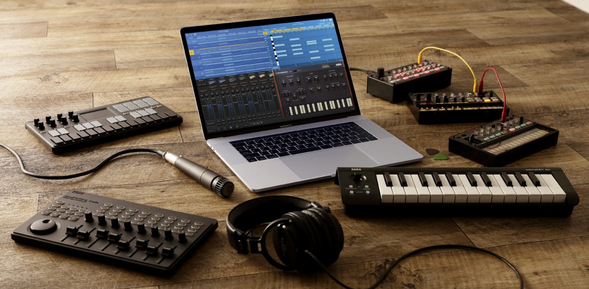 Mac版KORG Gadgetが近々販売開始!そしてiOS版にオーディオ録音が可能に!