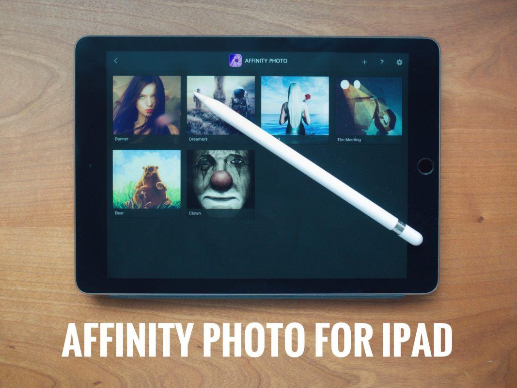Affinity Photo for iPad – 写真の切り抜きの方法