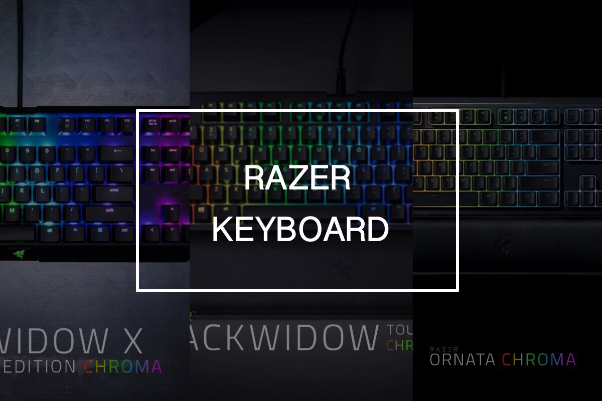 デスクトップPC用のキーボードとマウスを買い換えたい。Razer BlackWidowかOrnataか。