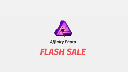Affinity Photo for iPad – Apps of the Yearの受賞を記念して半額セール