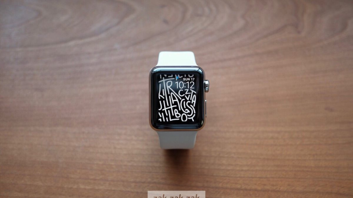 Apple Watch Series 3 – 38mmステンレススチールケースを購入しました。