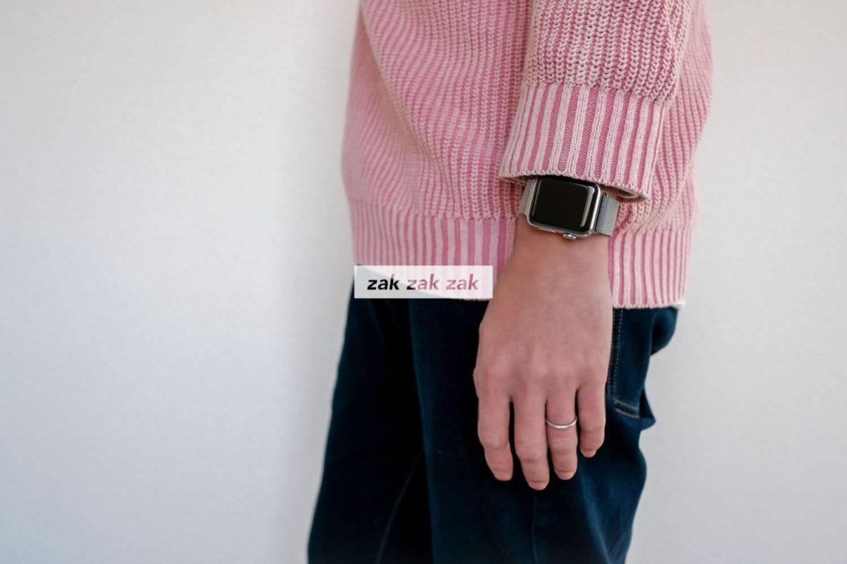 Apple Watch Series 3にサードパーティ製のミラネーゼループ風バンドを購入