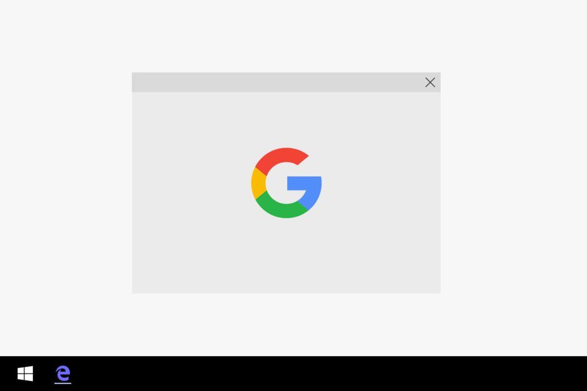 Microsoft Edgeの検索エンジンをBingからGoogleに変える方法