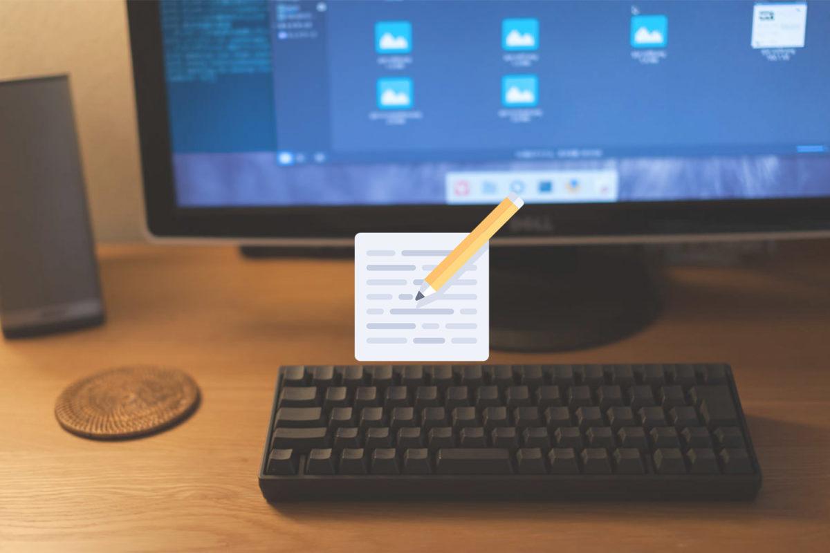 【Open Live Writer】Windowsのブログエディタを比較【Typora】