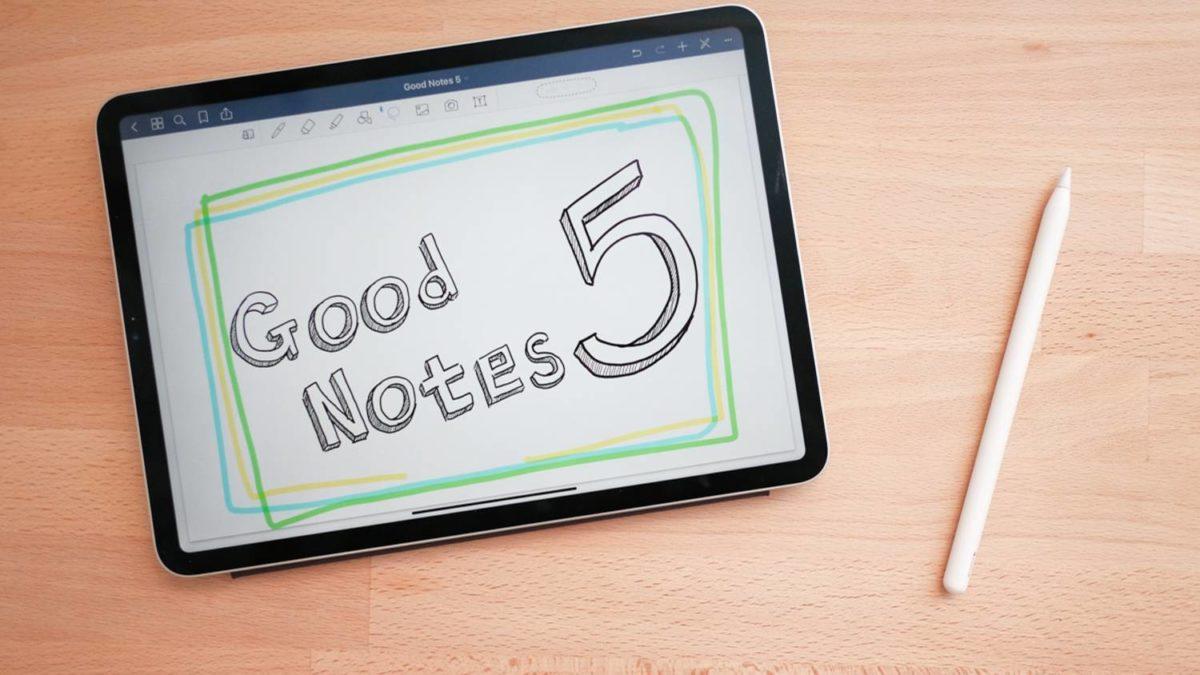 iPadの手書きノートアプリ「GoodNotes 5」の使い方