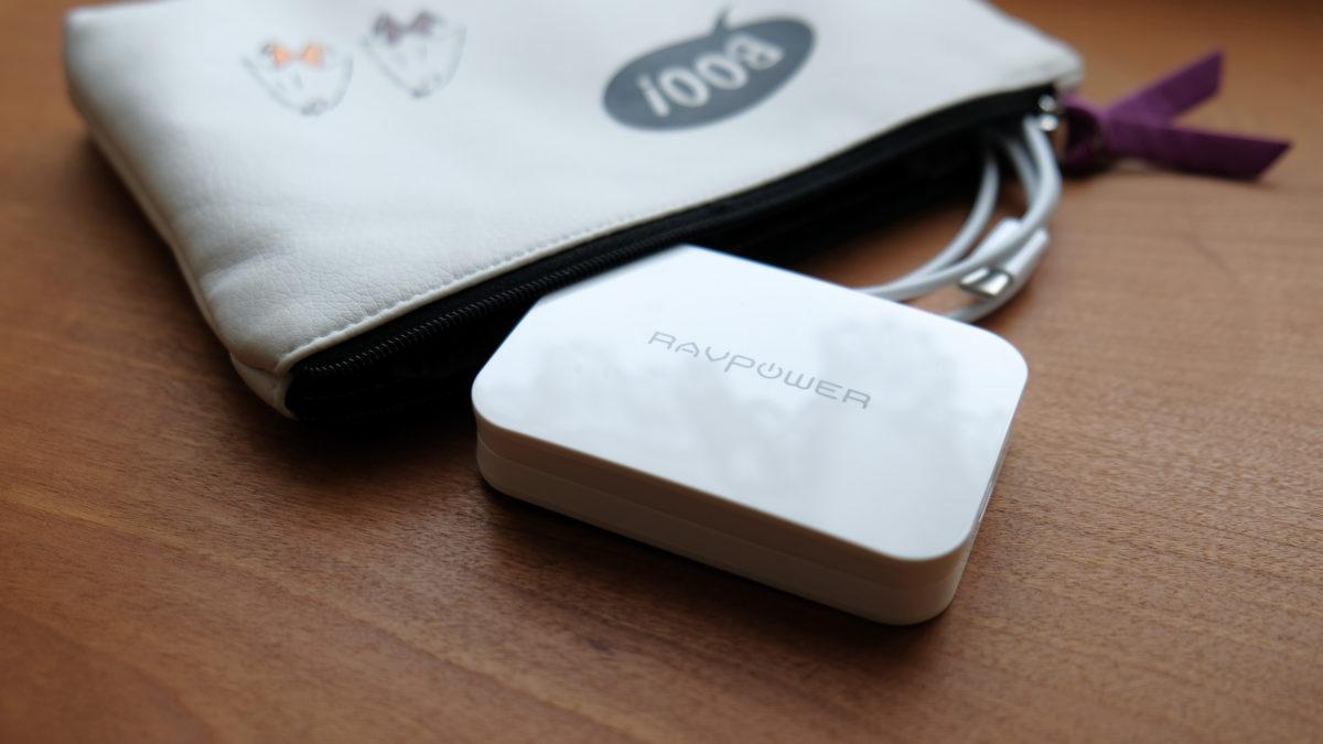 RavPower 小型軽量のPD対応 USB-C充電器【次世代素材GaN】