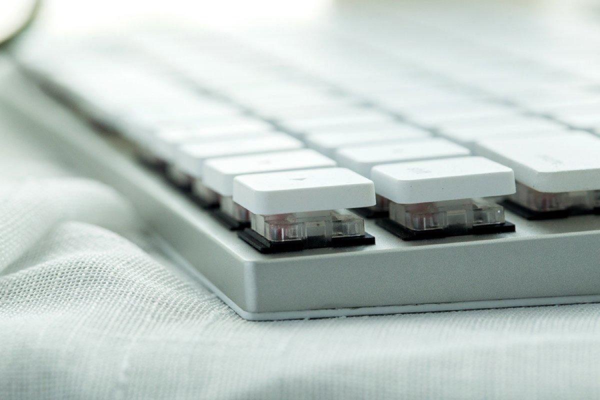 薄型ワイヤレスメカニカルキーボード「Taptek」を支援しました【Mac/Win対応】