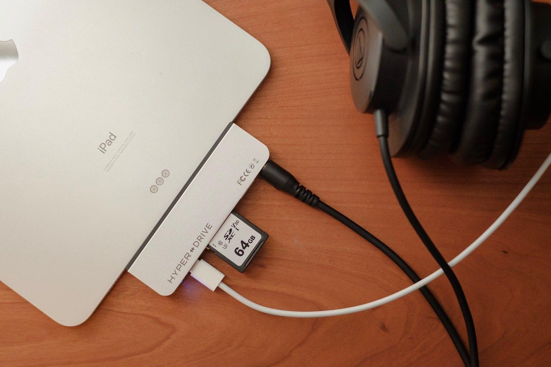 SDカードやUSB、HDMIもこれ1つで。HyperDrive USB-C ハブ for iPad Proをレビュー