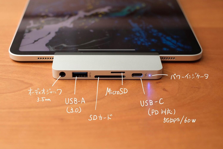 Hyper Drive USB-Cハブ for iPad