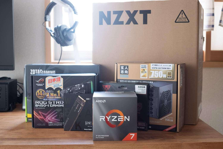 パーツ紹介編 / 第3世代 Ryzen 7 3700X(Zen 2)で自作PCを組む