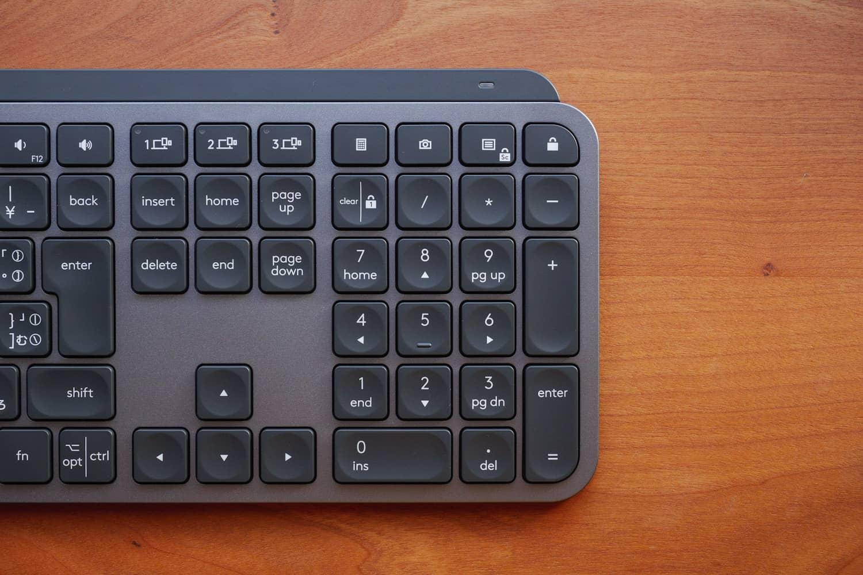 MX Keys テンキー部分