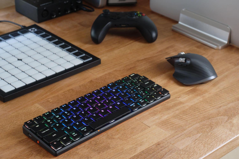 【PR】MacBookと調和するミニマルなメカニカルキーボード NuType F1 レビュー