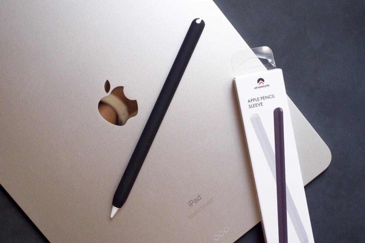 充電もタップも使える AhaStyle Apple Pencil 第2世代用 シリコンケース