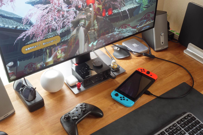 CNSL ミニドック&交換ケーブルでSwitchをTVモードでプレイ